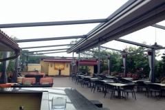 Gennius Retractable Pergola Awning For Restaurant Penthouse Dining Pergola Nyc